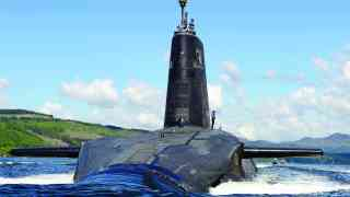 Trident nuclear base at risk of attack if cuts made