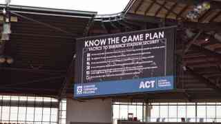 Know the Game Plan - sports fans urged to be vigilant