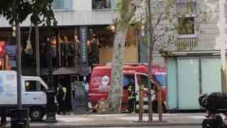 Two vehicle terrorist attacks in Barcelona
